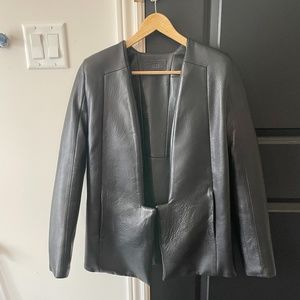 Rad Hourani Black leather jacket